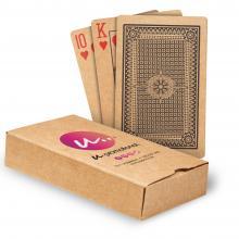 Tarjetas de juego de papel reciclado | Caja impresa | A todo color