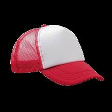Gorras de camionero | A todo color | Ajustables | 8798594FC Rojo