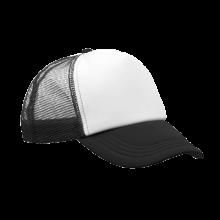 Gorras de camionero | A todo color | Ajustables | 8798594FC Negro