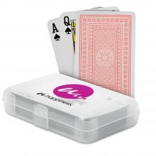 Juego de cartas poker | En caja de plástico impresa