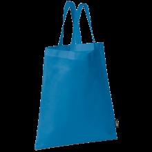 Bolsa sin tejer con asas cortas   9191378 Azul