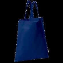 Bolsa sin tejer con asas cortas   9191378 Azul oscuro