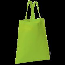 Bolsa sin tejer con asas cortas   9191378 Verde