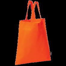 Bolsa sin tejer con asas cortas   9191378 Naranja