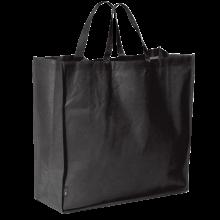 Bolsa de compras grande l 45 x 45 x 18 cm | 9191387 Negro