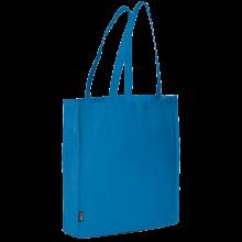 Bolsa sin tejer con asas largas l 42x38x9 | 9191479 Azul