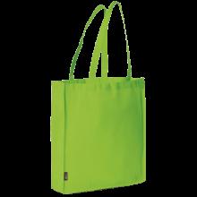 Bolsa sin tejer con asas largas l 42x38x9 | 9191479 Verde