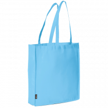 Bolsa sin tejer con asas largas l 42x38x9 | 9191479 Azul claro