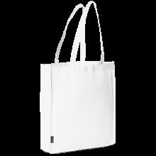 Bolsa sin tejer con asas largas l 42x38x9 | 9191479 Blanco