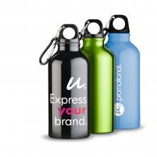 Botellas de Aluminio | Mosquetón | 400 ml