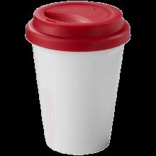 Taza de viaje | Plastico | 330 ml | 92100354 Rojo