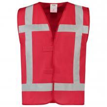 Chaleco de seguridad | Reflexión | Vestuario Laboral Tricorp | 97V-REF Rojo
