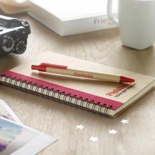 Cuadernos de materiales reciclados de formato A6 + bolígrafo | 8763775