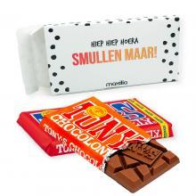 Tony's Chocolonely | Tabletas de chocolate | 180 gramos | En caja de regalo