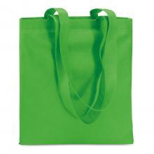 Bolsas no tejidas   Asas largas   Polipropileno    40 x 40 cm   Maxs020 Verde