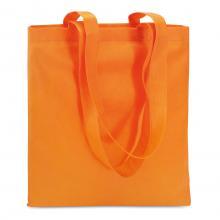 Bolsas no tejidas   Asas largas   Polipropileno    40 x 40 cm   Maxs020 Naranja