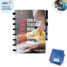 Cuaderno CorrectBook A5 | Incl. esponja y bolígrafo