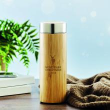 Termo | Bambú | Compartimiento de té | 400 ml | 8759421