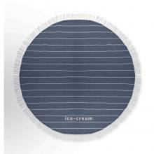 Toalla redonda de hamam | 180 gramos | Ø 150 cm
