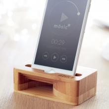 Soporte para móvil | Amplificador | De bambú