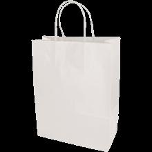 Bolsas de papel | A4 | Impresión 1 - 4 colores | maxp017 Blanco