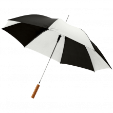 Paraguas de colores   Automático   Ø 102 cm   Maxp034 Negro/Blanco
