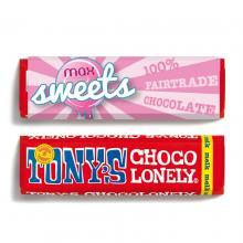 Tony's Chocolonely | Tabletas de chocolate | 50 gramos