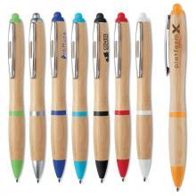 Bolígrafos de Bambú | Tinta azul | max043