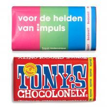 Tony's Chocolonely | Tabletas de chocolate | 180 gramos