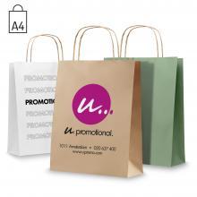 Bolsas de papel | A4 | Entrega rápida