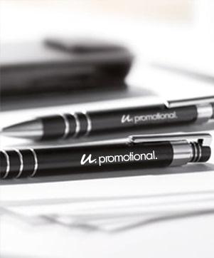 Bolígrafos metálicos personalizados