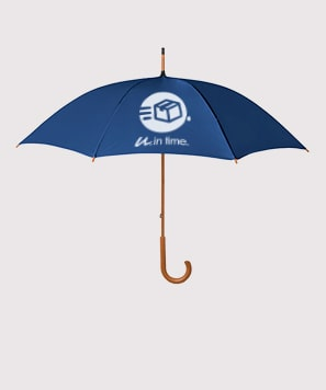 Paraguas personalizados pocas unidades