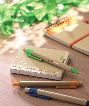Productos ecológicos cuadernos